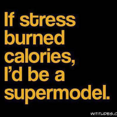 DIETING WHILE STRESSED