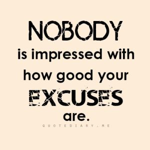 great excuses