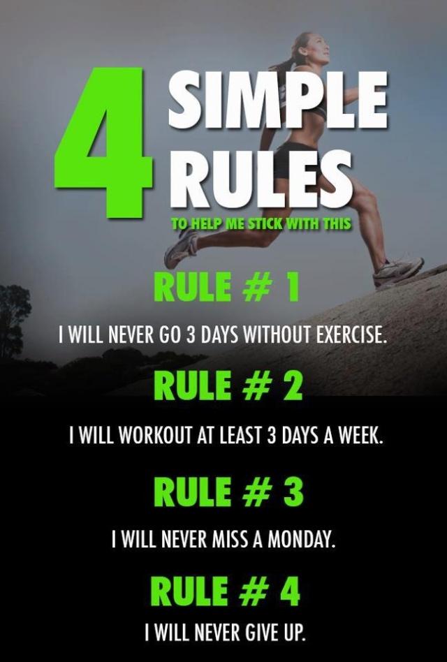4 simplel rules