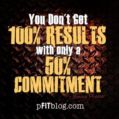 50% commitment