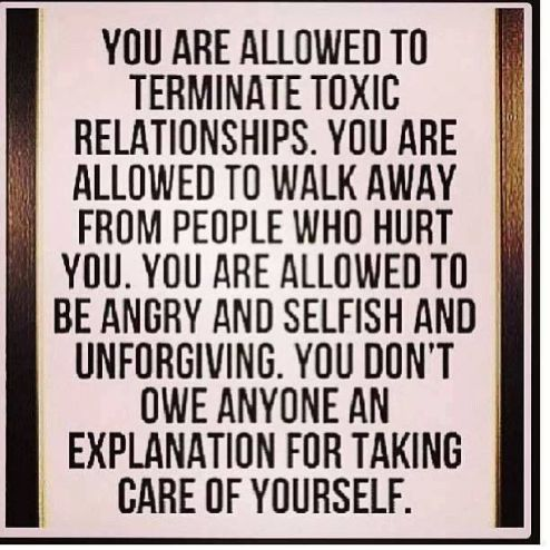 you are allowed to do for you