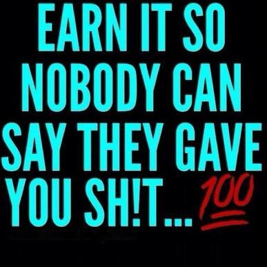 earn it