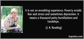 it is not an ennobling