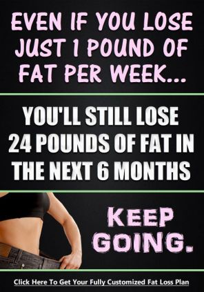loose one pound a week