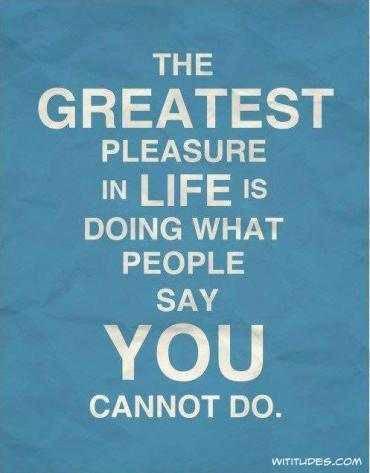 gratest pleassure