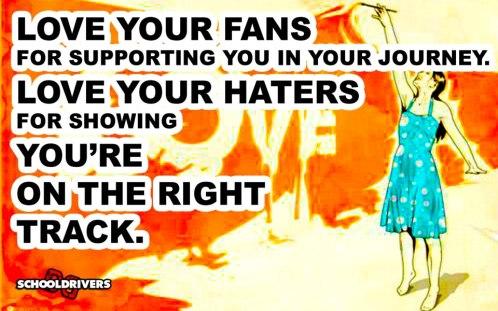 Love your fans